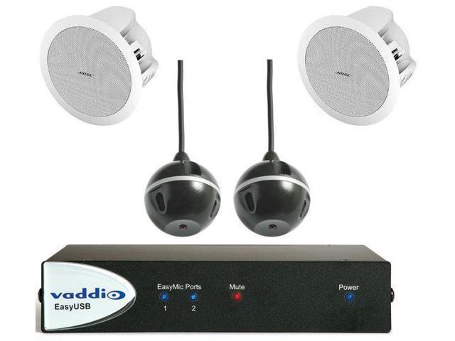 vaddio 999-8645-000 EasyTalk USB Audio Bundles System D