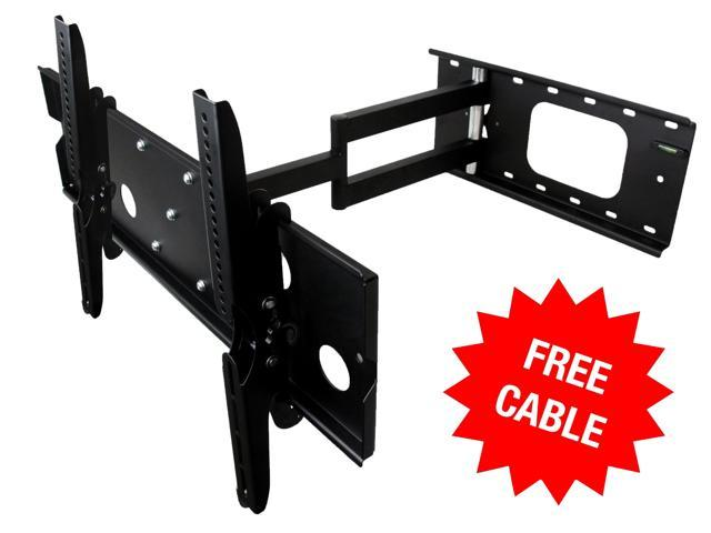 Mount-It! Heavy Duty Full Motion Single Arm Mount for 32