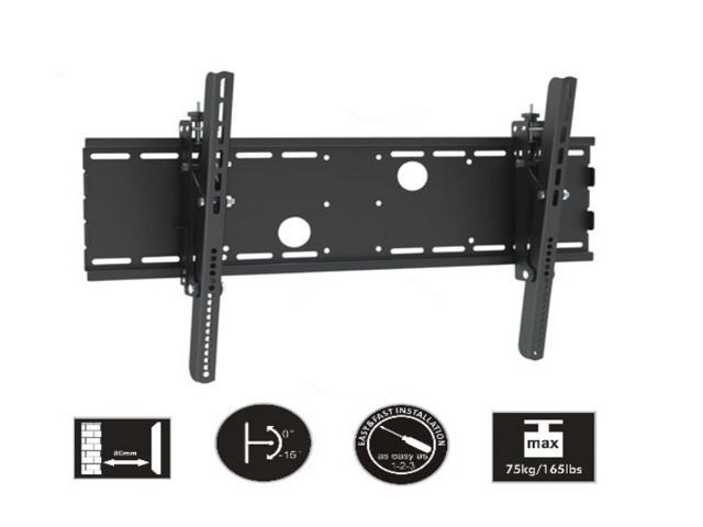 Mount-It MI-353B Panasonic, Samsung, Sony Compatible Tilt TV Mount for 37-70