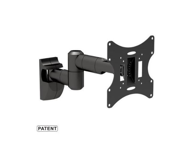 Mount-It! Full Motion Flat Panel Monitor/LCD TV Wall Mount with Dual Articulating Arm for 23-42