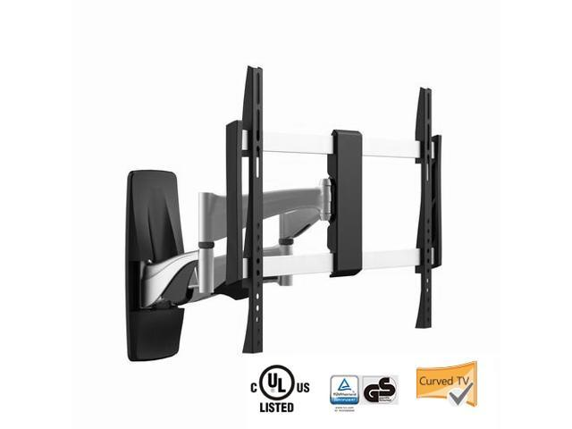 "Mount-it! Curved TV Wall Mount MI-9464X, Heavy-Duty, Ultra-Slim, Stylish, Full-Motion Curved and Flat Panel TV Mount for 37"" to 70-Inch LED, LCD ..."