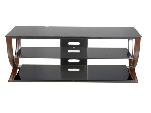 Techni Mobili Stylish & Modern 65 Inch TV Stand in Black