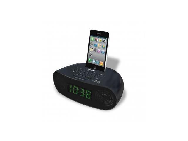 Jensen Ipod/Iphone Dock Digital Music System Dual Alarm Clock Radio - Jensen JIMS-70I