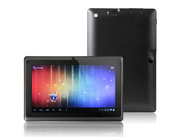 Cheap 7 inch Andorid 4.1 Q88 Tablet pc A23 Dual Core camera ALLWINNER 512M 4GB WIFI Dual Core Tablet Android