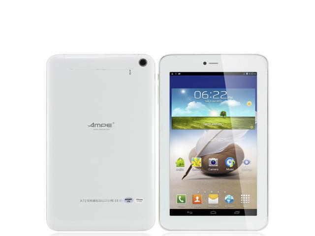 AMPE 7 inch 2G GSM Phone Call Tablet PC MTK8312 Dual Core 1.3GHz 512MB Memory 8GB Nand Flash Android 4.2 Bluetooth GPS Tablet dhl Free ...