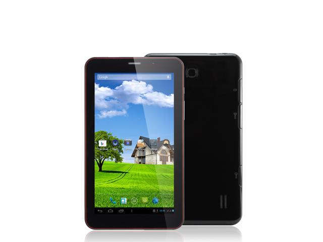 7 inch Phone Call Tablet PC 3G tablet MTK8312 Dual Core ARM Cortex-A7 1.2GHz android 4.2 bluetooth Wifi Dual Camera 512MB Memory 4GB HDD Built ...