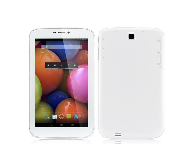 7 inch Phone Call tablet pc Android 4.2 MTK6572 Cortex A7 Dual Core 1.20GHZ 512MB Memory 4GB HDD Support Bluetooth GPS OTG +16G TF Card ...