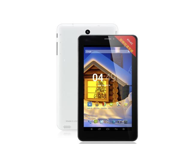 KNC MD711 7inch Dual Core 2G Phone call tablet Pc Allwinner A23 1.2GHz Android 4.2 Jelly bean 512MB Memory 8GB Dual Camera Bluetooth WIFI Android ...