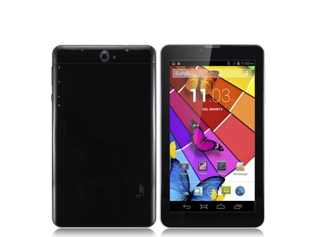 7inch Dual Core Phone Call Tablet PC MTK8312 GSM Android 4.2 bluetooth Wifi Dual Camera with Two SIM Card Slot 512MB Memory 4GB HDD 8G ...