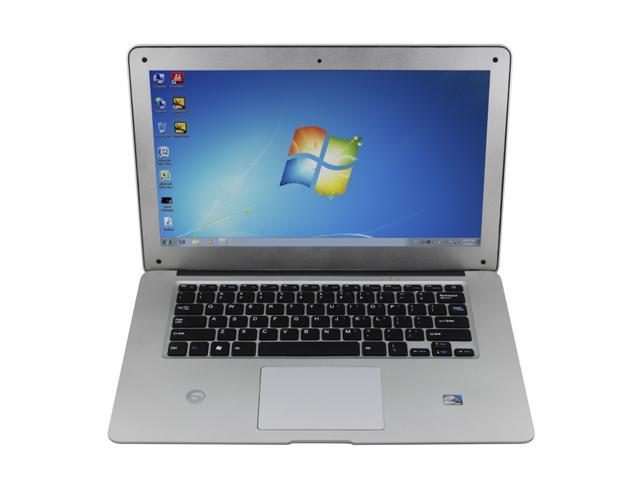 14.1 inch Dual Core Win7 Mini Laptop Intel Atom D2500 Slim Notebook WIFI HDMI 1G Memory 160G HDD LED screen 1366X768