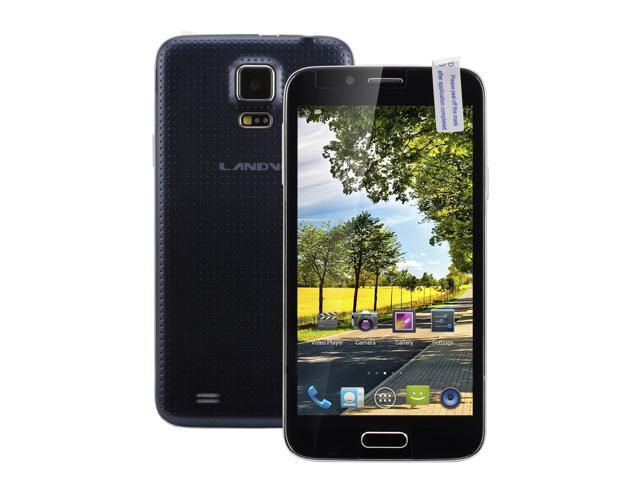 Landvo L900 Quad Core 5.0 Inch Cell Phone Android 4.2 QHD Screen 3G WCDMA Phone Tablet PC Smart Phone 5.0MP Camera 3G GPS Bluetooth Dual ...