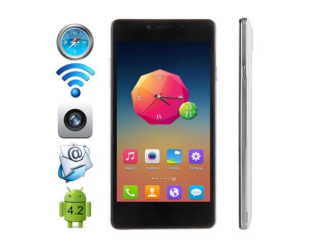 CUBOT S208 3G Phone 5.0 Inch QHD IPS Screen Quad Core Android 4.2 Smartphone MTK6582 1.3GHz 8.0MP Camera 1GB+16GB 3G GPS Bluetooth OTG Cell ...