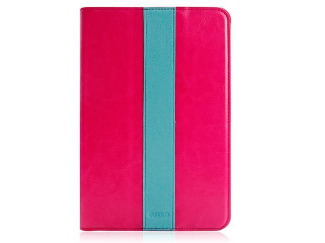iPearl Pink PU Leather Case Cover for iPad mini 2 with retina Display accessories sleeve