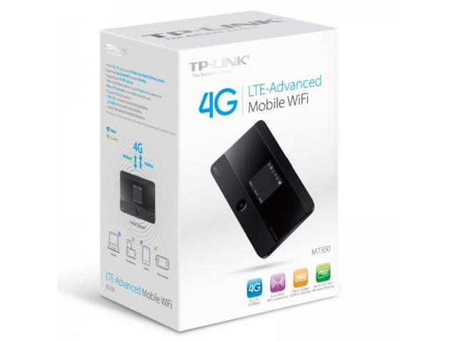 TP-LINK M7350 4G LTE Mobile WiFi Wireless Router / Hotspot Support To 15 Devices