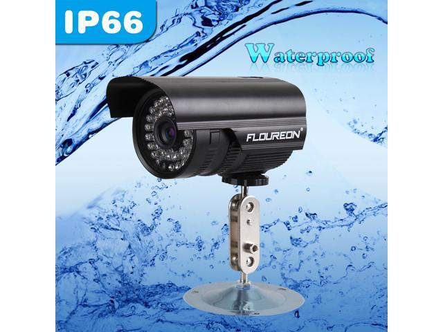900TVL FLOUREON Waterproof High Resolution 1/3
