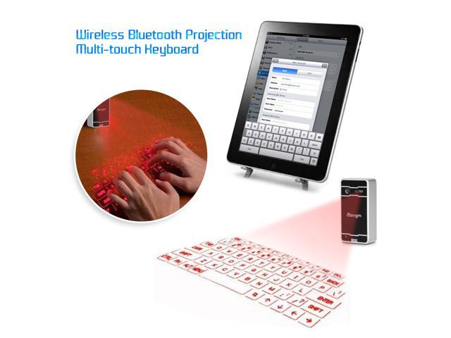 Atongm Wireless Bluetooth Virtual Laser Projection Pattern Keyboard for Laptop iphone4/4S/5/5S/6 Samsung S4 S5 Note4 Sony Xperia SP Z3 DOOGEE ...