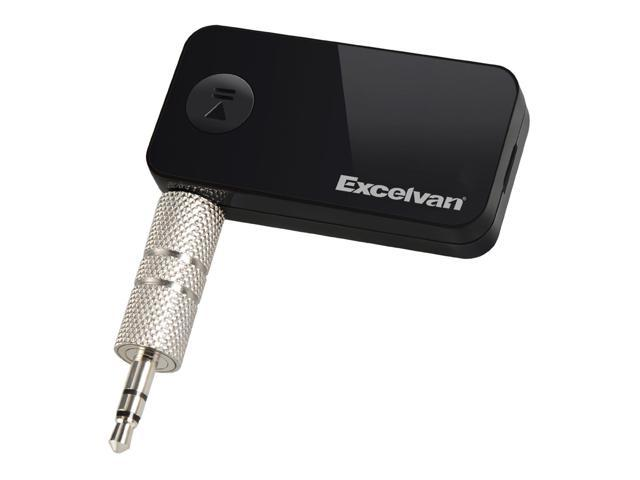 Excelvan BT01 Bluetooth 3.0 Music Streaming Adapter 3.5mm Wireless Car Audio Receiver Hands Free for iPhone 5S/iPhone 6/6 Plus, iPad Air/Air ...