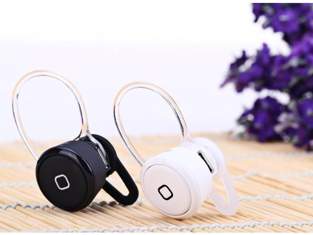 YE-106 Super Mini Wireless Bluetooth Earphone Ear-hook In-ear Headset Noise Cancelling with Mic for all Smartphone Tablet PC