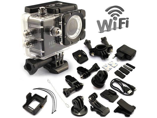 Y8 FHD1080P WIFI Waterproof Sports DV Wi-Fi camera 1.5 inch LTPS LCD high definition digital motion video recording camera