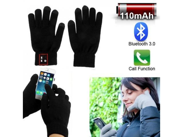 iGlove Full Finger Bluetooth Talking Touchscreen Answer Call Gloves Touch Screen Mobile Headset Speaker For Smart Phone Tablet Iphone