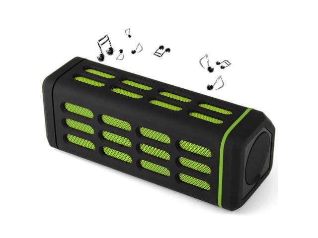 Bluetooth 3.0 Deep Bass Music Speaker, Hands-free , Volume Control, Microphone, SD Card Music Playing, Bluetooth, Water Resistant for outdoor ...