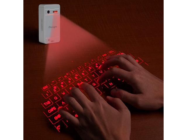 Atongm FWLK1 Magic Newest Wireless Mini Bluetooth Virtual Projection Laser Keyboard for Laptop iPhone Smartphone