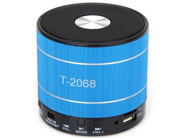 T-2068 HIFI MIni Portable Speaker Built-in FM Radio for Laptop, Mobile Phone, Tablet PC, PC, iPod, MP3, iPhone, MP4, PSP, MP5