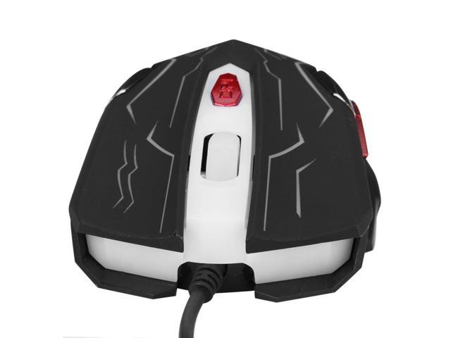 Excelvan KN-001 Gaming Mouse Dota League Adjustable DPI Optical 6 Buttons Breathing Light Mice for The high-end players and gaming professional ...