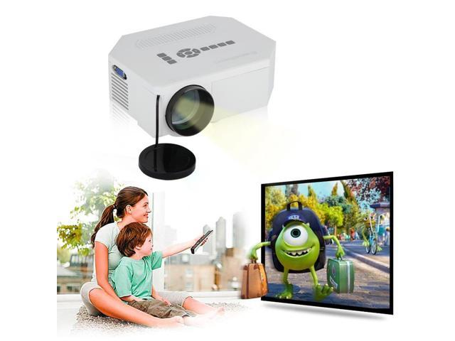 150 lumens Excelvan UC30 Multimedia Portable Mini LED/LCD Home Entertainment Theater Projector built-in speaker with USB/SD/VGA/HDMI/AV/Micro USB ...