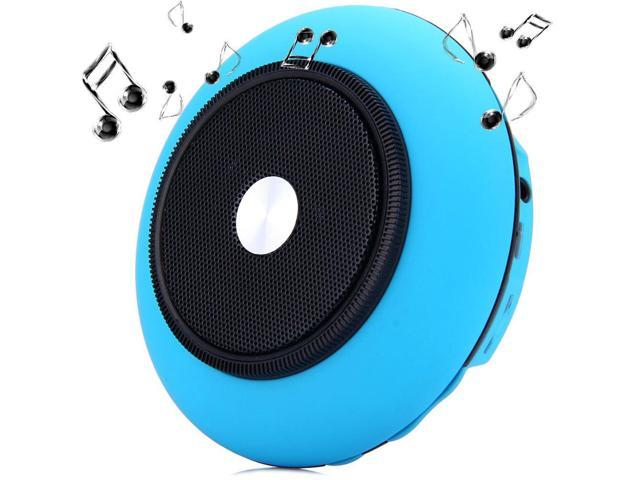 iUFO-001 Handy UFO Wireless Bluetooth Speaker Speakerphone with Microphone Hands-free Calls Support AUX External Audio Input Bluetooth Enabled ...
