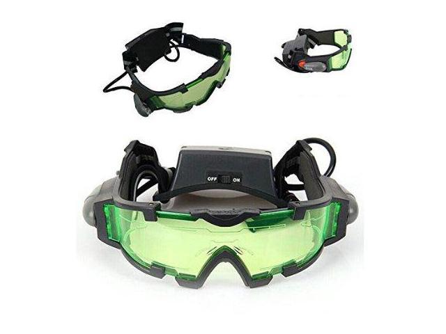 Floureon® JYW-1312 Outdoor Help Night Vision Goggles Glasses with Flip Out LED Light