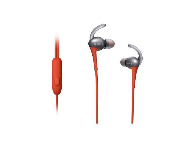 SONY Orange MDRAS800AP/D Sports Headphones Water Resistant
