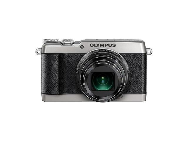 Olympus SH-2 Silver 16 MP Digital Camera with 24x OpticalImage Stabilized Zoom with 3-Inch LCD