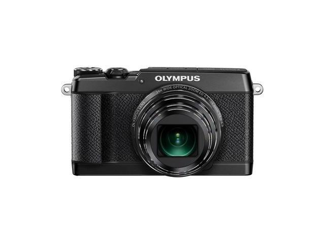 Olympus SH-2 Black 16 MP Digital Camera with 24x Optical Image Stabilized Zoom with 3-Inch LCD