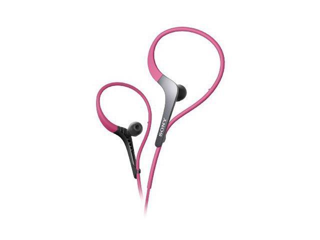 Sony MDR-AS400EX Active Series Sport Headphones -Pink