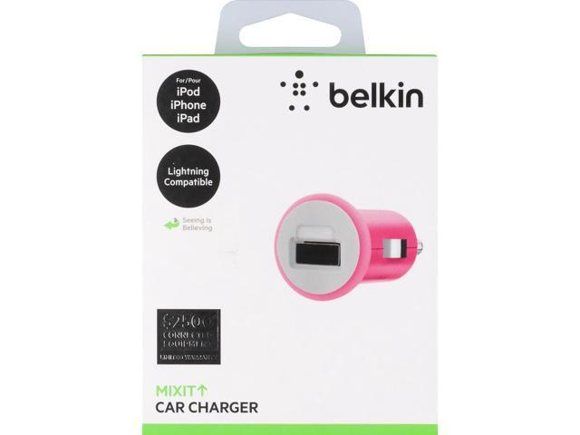 MIXIT Car Charger - Pink