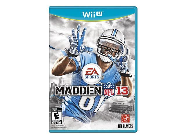 Electronic Arts 19735 Madden NFL 13 Wii U