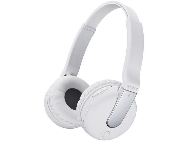 SONY DRBTN200W Bluetooth(R) NFC Headset (White)