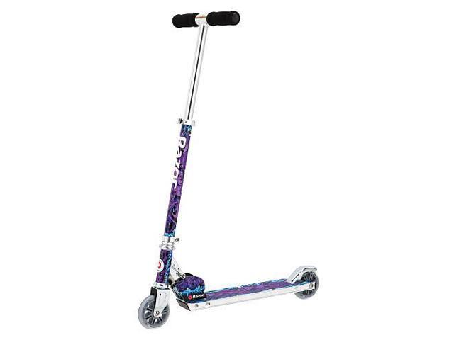Razor Wild Style Folding Aluminum Kick Scooter – Blue