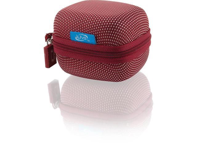 iLive ISB84R Portable Wireless Bluetooth Speaker (Red)