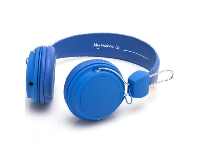 SMS Audio Blue KS-2013-BDIY-ROH KidzSafe Boys DIY Headphones