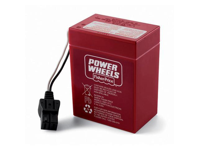 Fisher-Price Power Wheels 6-Volt Rechargeable Battery