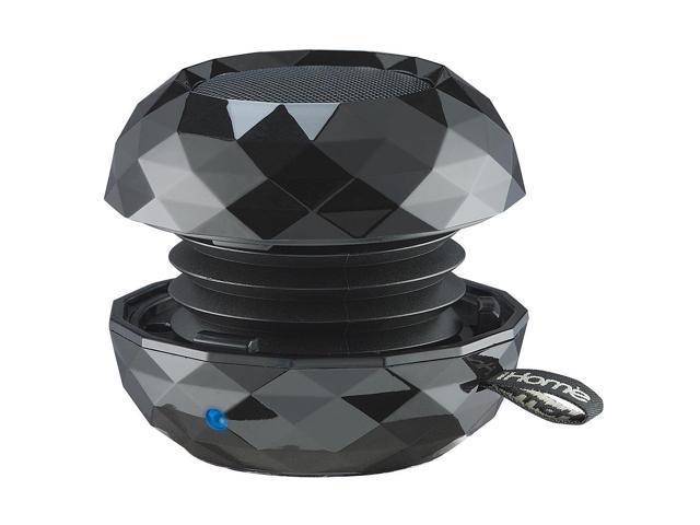 iHome IBT65BC Black Bluetooth Mini Speaker