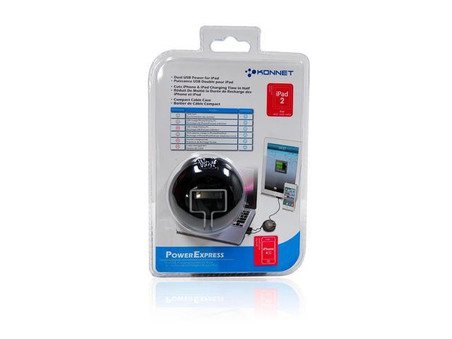 iPad/iPad2/iPhone USB Charger - Black