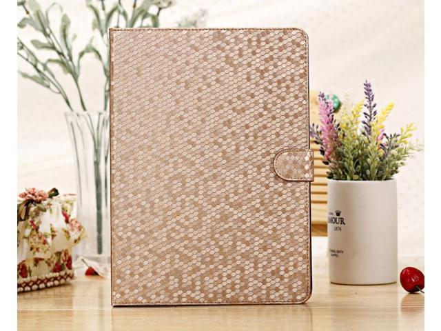 KABB Good Quality Diamond Stand Cover Leather Case Bag For Apple iPad Air Case,1pc Free Shipping For ipad 5