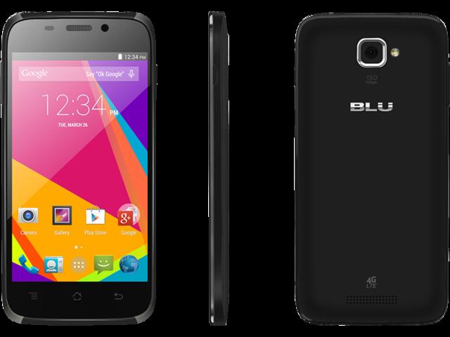 BLU Studio 5.0 HD LTE Y534q Black Android Unlocked Cell Phone