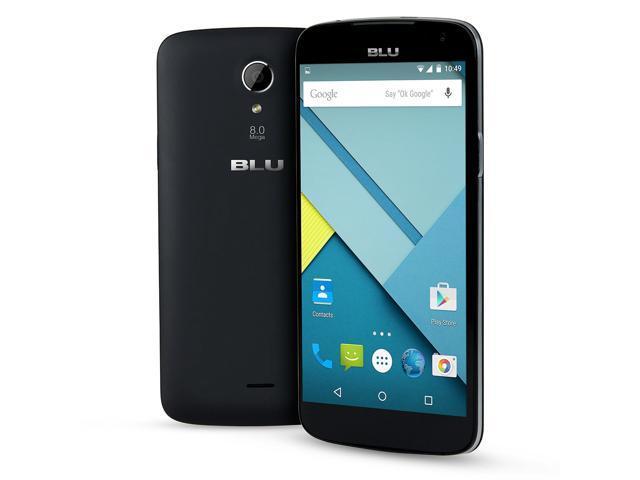 Blu Studio X D750L Black 3G 4G Quad-Core 1.3GHz Unlocked GSM HSPA+ Android Phone