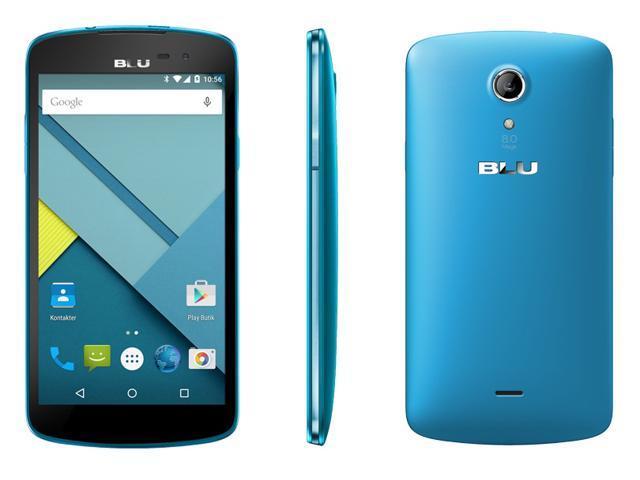 Blu Studio X D750L Blue 3G 4G Quad-Core 1.3GHz Unlocked GSM HSPA+ Android Phone
