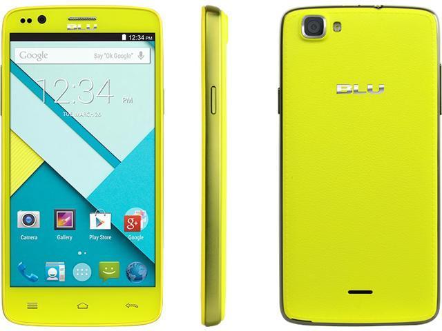 Blu Star 4.5 S451u Black Quad-Core 1.3GHz Design Edition Unlocked GSM Cell Phone