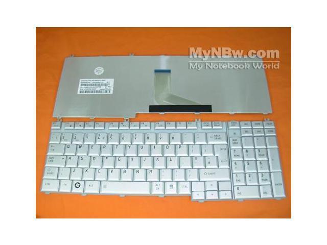 UK Keyboard for Toshiba P200 GRAY